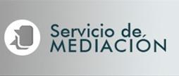 Logo y texto Servicio de Mediación